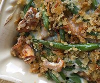Chanterelle & Green Bean Cassarole